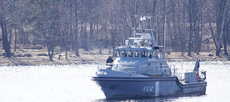 Военный корабль Латвии отправился на учения в Данию