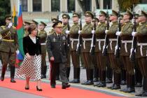 В Вильнюс с официальным визитом прибыл министр обороны Азербайджана