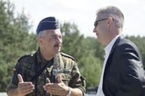 Предложение организовать встречу министров обороны Балтийских стран и Германии