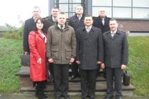 Встреча латвийских и российских полномочных представителей границы