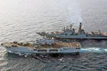 Антипиратские учения России и НАТО