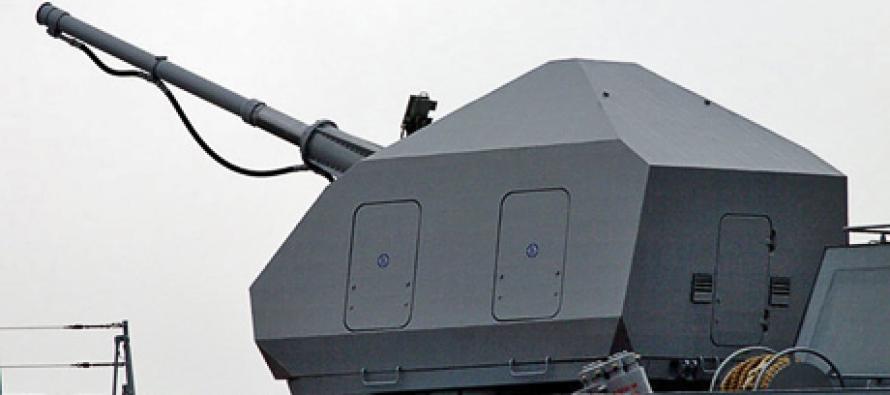 100-мм артиллерийская установка для корвета «Стойкий»