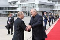 Президенты посетят учения «Запад-2013»