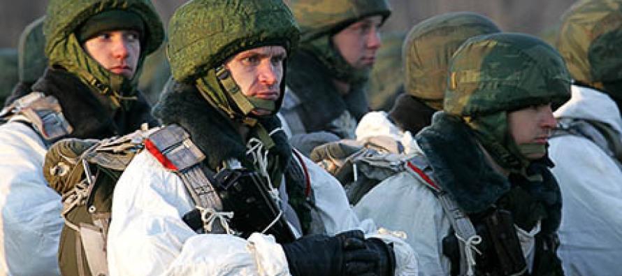 Войска возвращаются в казармы
