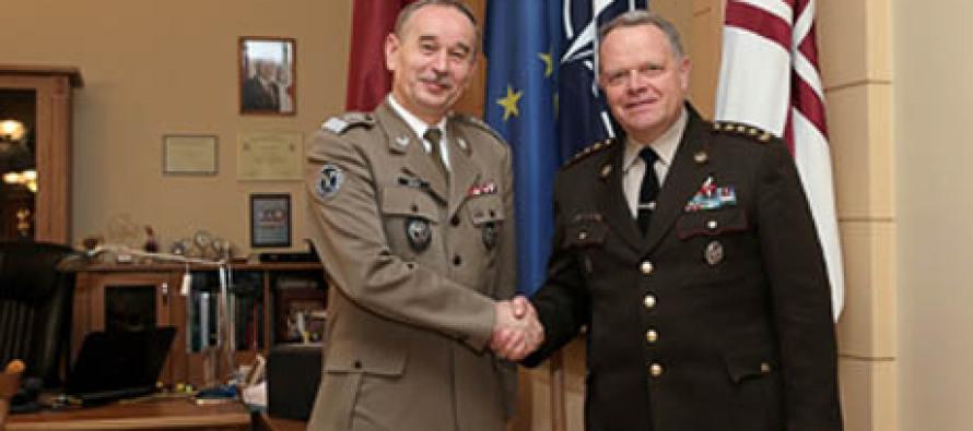 Визит польского командующего