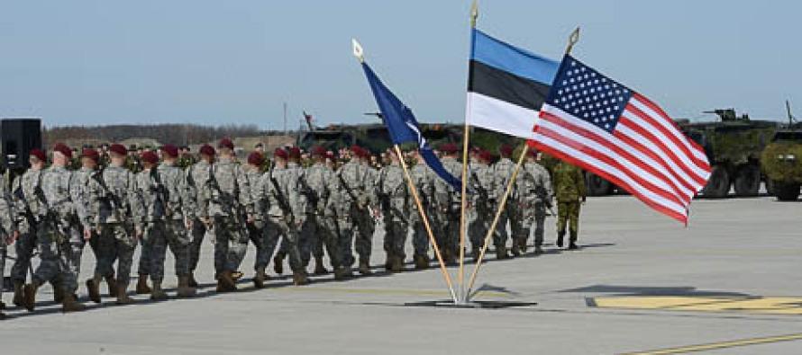 Американцы прибыли в Эстонию