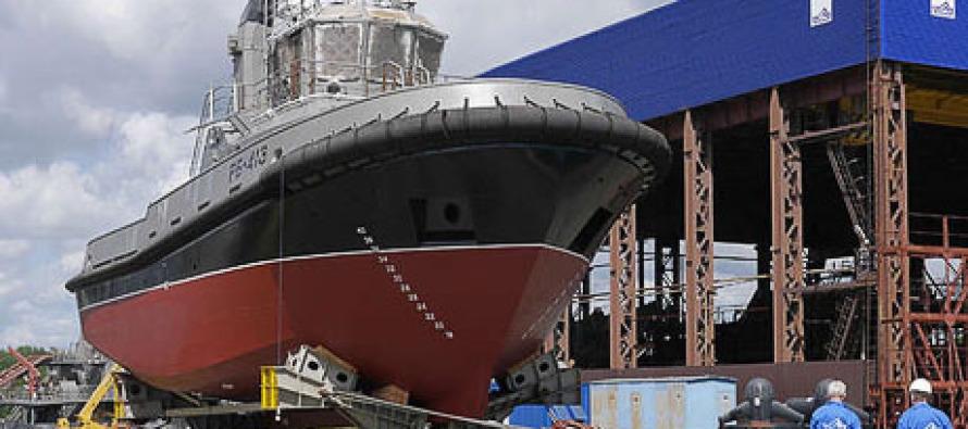 Буксир «РБ-413» спущен на воду