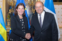 Встреча министров Швеции и Франции