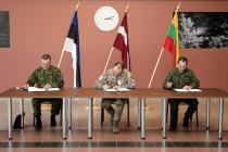 Начальники Генеральных штабов Латвии, Литвы, Эстонии провели встречу в Риге