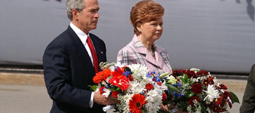 Визит Джорджа Буша в Ригу