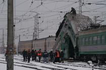 Столкновение поездов в Риге