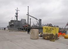 Морским силам Латвии 15 лет