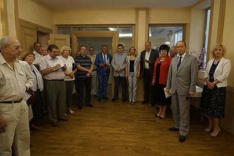 Круглый стол в Доме Москвы
