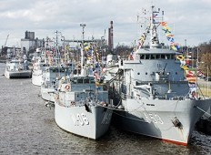 20 лет Флотилии Морских сил Латвии