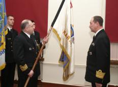 Новый командир Морских сил Латвии