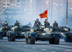Юбилейный парад в Минске