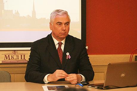 Встреча в Доме Москвы