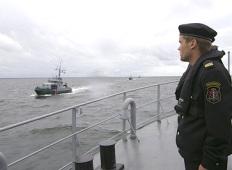 Морские пограничники Латвии