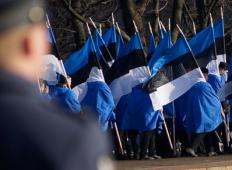 Военный парад в Пярну