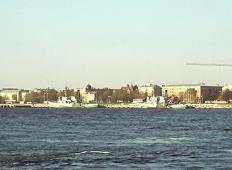 Визит подводных лодок в Ригу