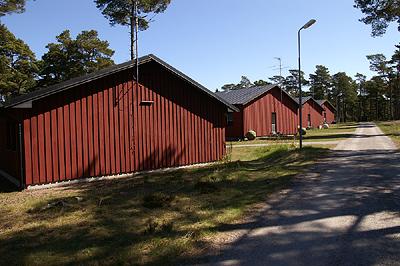 Оборона шведского берега. Военный остров Корсо.