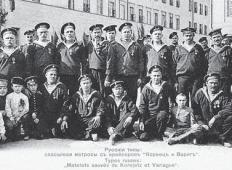 Матросы-латыши и эстонцы «Варяга» и «Корейца»