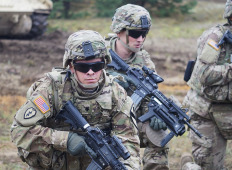 Американская кавалерия в Адажи: Открытие