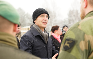 Визит генсека НАТО в Латвию