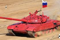 Готовится танковый биатлон
