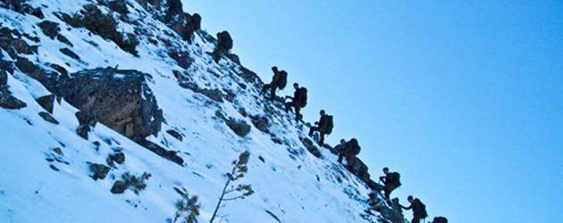 Занятия по горной подготовке