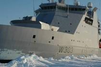 Пять военных ледоколов