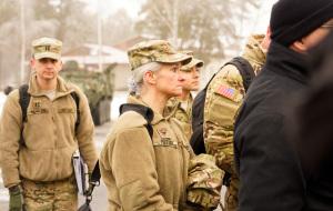 2-ой Кавалерийский в Адажи: Церемония