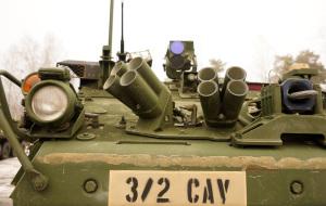 2-ой Кавалерийский в Адажи: Stryker
