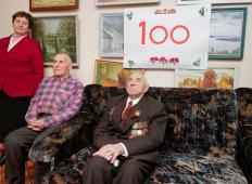 Ветеран войны отметил 100-летие