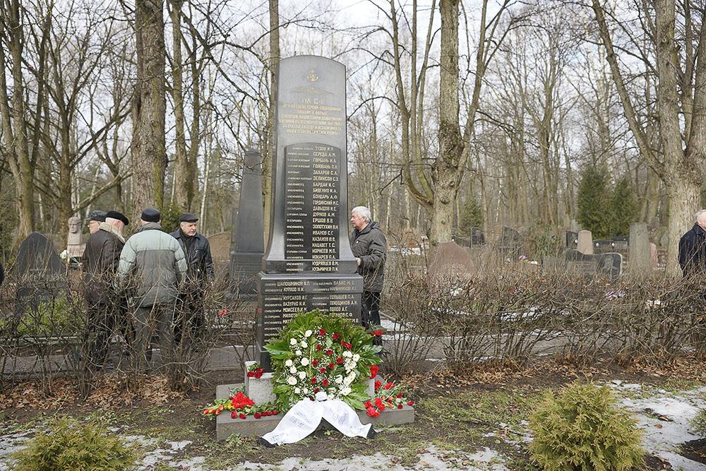 Февральский день на Гарнизонном кладбище