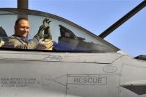 Рекордный налёт часов на F-16