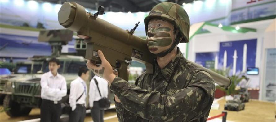 Рост экспорта вооружений из Китая