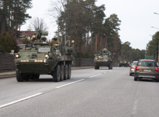 Dragoon Ride — маршем по Латвии