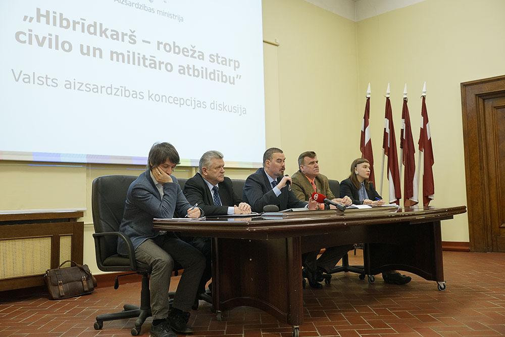 Дискуссия о гибридной войне в Военном музее