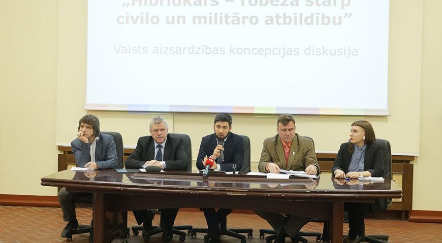 Дискуссия «Гибридная война – граница между гражданской и военной ответственностью»