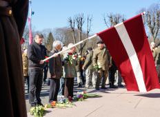 Шествие памяти легионеров Waffen SS в Риге