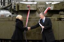 Танк Centurion в подарок Музею Войска Польского