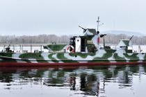 Волжский бронекатер БК-73 снова в строю