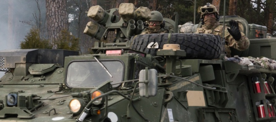 Продолжение наращивания сил НАТО