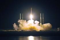 Запуск туркменского спутника в США