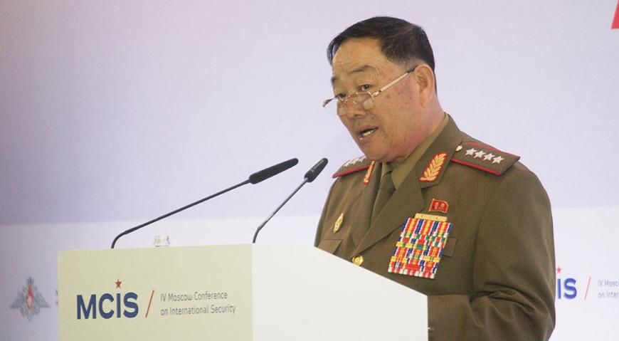 Хён Ён ЧХОЛЬ Министр народных вооруженных сил, генерал армии
