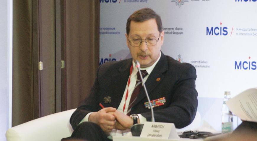 Действительный член Российской академии наук Алексей Георгиевич Арбатов