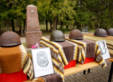 Захоронение Советских солдат в Ропажи