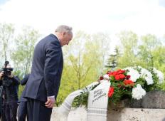 8 мая в Риге: Братское кладбище