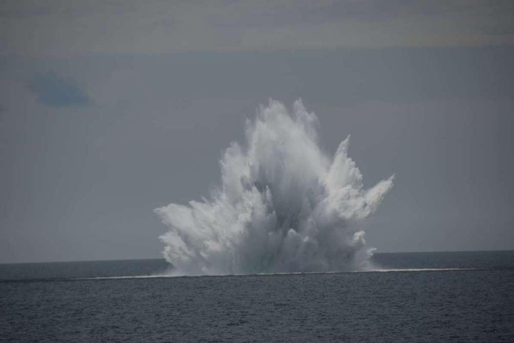 Морская мина нейтрализована в Польше